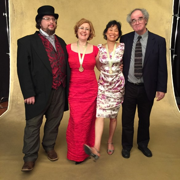 Bary Werger, Nadia Shpachenko, Genevieve Feiwen Lee, and Tom Flaherty at the Grammy Nominee Reception