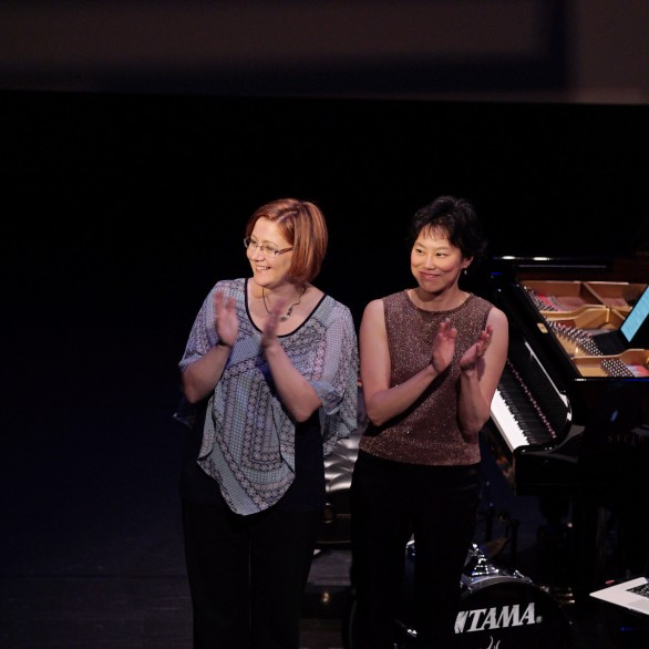 Nadia Shpachenko and Genevieve Feiwen Lee:  Piano Spheres Recital at REDCAT @ Disney Hall