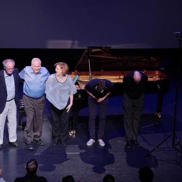 Tom Flaherty, Lewis Spratlan, Nadia Shpachenko, Adam Schoenberg, and Peter Yates: Piano Spheres Recital at REDCAT @ Disney Hall