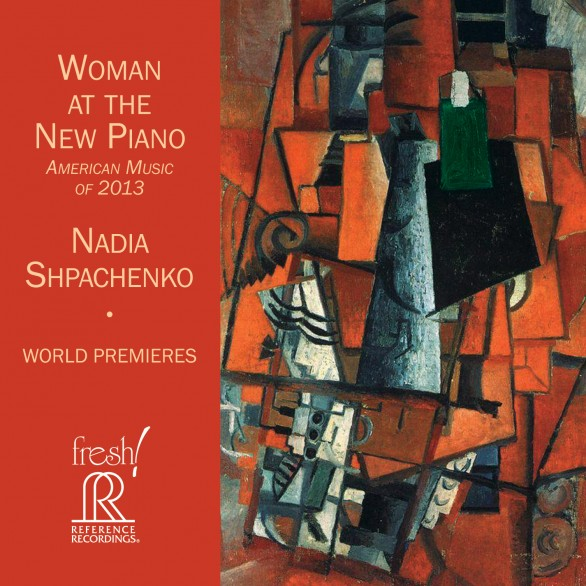 Woman at the New Piano Album Cover, art by Kazimir Malevich