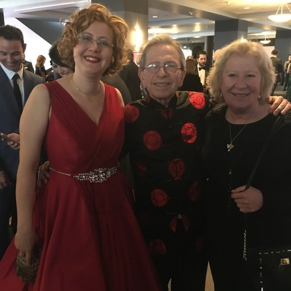 Nadia Shpachenko, Jerome Lowenthal and Ursula Oppens at the 58th Grammy Awards
